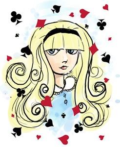 Watercolor Alice