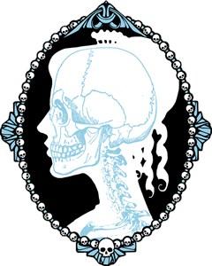 Pretty Skull Cameo