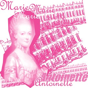 Pink Marie Antoinette Collage