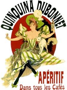 Vintage Quinine Poster Art