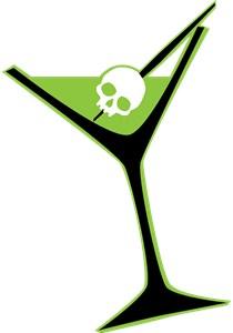 Green Poison Martini
