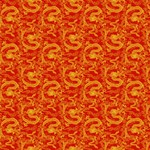Chinese Dragon Pattern Red Gold