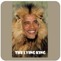 Obama Lying King