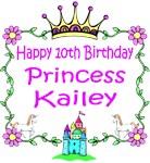 Happy 10th Birthday Princess Kailey