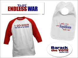 POLITICAL AND 2008 ELECTION T-SHIRTS & SOUVENIRS