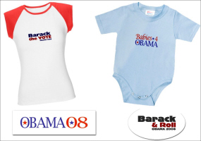 BARACK OBAMA STICKERS AND 2008 ELECTION SOUVENIRS