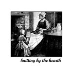 Knitting By the Hearth