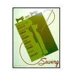 Vintage Sewing WPA Poster