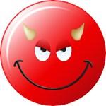 Devil Smiley Face