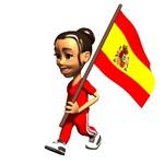Spain Girl T-Shirts