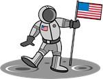 American Astronaut T-Shirts