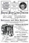 B&O Royal Blue LineTrains 