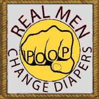 Real men change diapers with tattoo