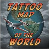 Tattoo Map of the World
