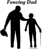 Fencing Dad