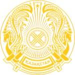 Kazakhstan coat of arms Yellow