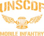 UNSCDF Mobile infantry (yellow distressed)