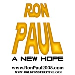 Ron Paul - A New Hope (Gold)
