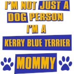 Kerry Blue Terrier Mommy
