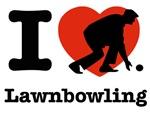 I love Lawn bowling