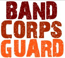 Come inside for band, corps, guard and percussion
