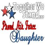 Proud Air Force Daughter
