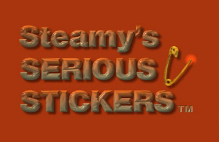 Steamy's Serious Stickers