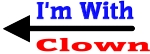 I'm With Clown
