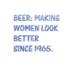 Beer-making women look better
