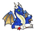 UPDATED: Blue Bookdragon