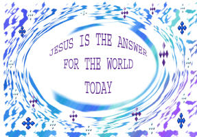 RELIGION/JESUS IS THE ANSWER