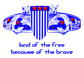 MILITARY/LAND OF THE FREE BECAUSE OF THE BRAVE