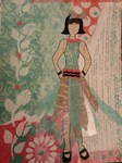 Mixed Media Paper Doll