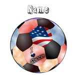 I Love Soccer (personalized)