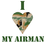 I Love My Airman CAMO