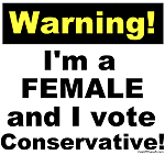 WARNING! Conservative Female