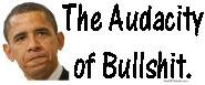 Obama The Audacity of Bullshit