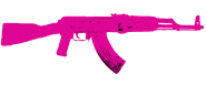 Hot Pink AK47 T-Shirts