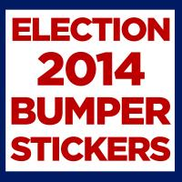 Election 2014 Stickers