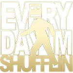Everyday Shufflin Gold Blockhead