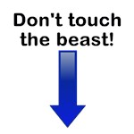 Don't touch...