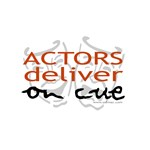 Actors Deliver On Cue T-shirts & Gifts