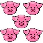 Cute Pink Piggies