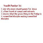 Youth Pastor Definition