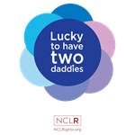 Lucky To Have Two Daddies - Blue Wheel