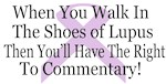 Walk in the shoes of Lupus