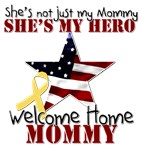 She's not just my Mommy, She's my hero