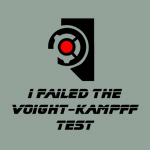 I Failed the Voight Kampff Test