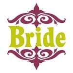 Bride: Moroccan (Mauve and Lime)