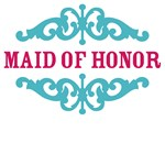 Maid of Honor (Hot Pink and Tiffany Blue)